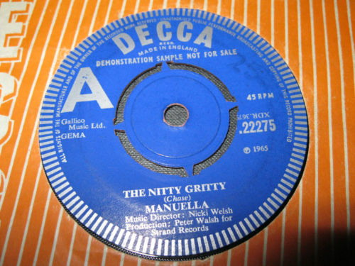 12.1 Nitty Gritty 1965 UK Promo