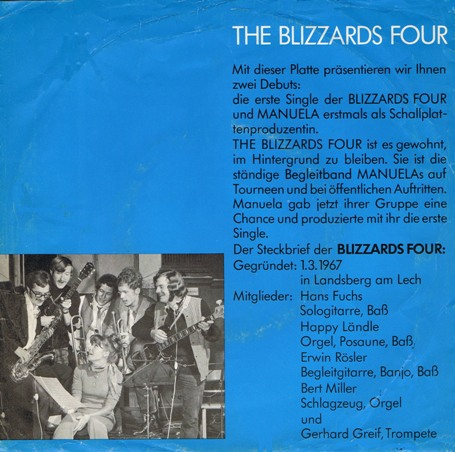 1970.2 The Blizzards Four Tel